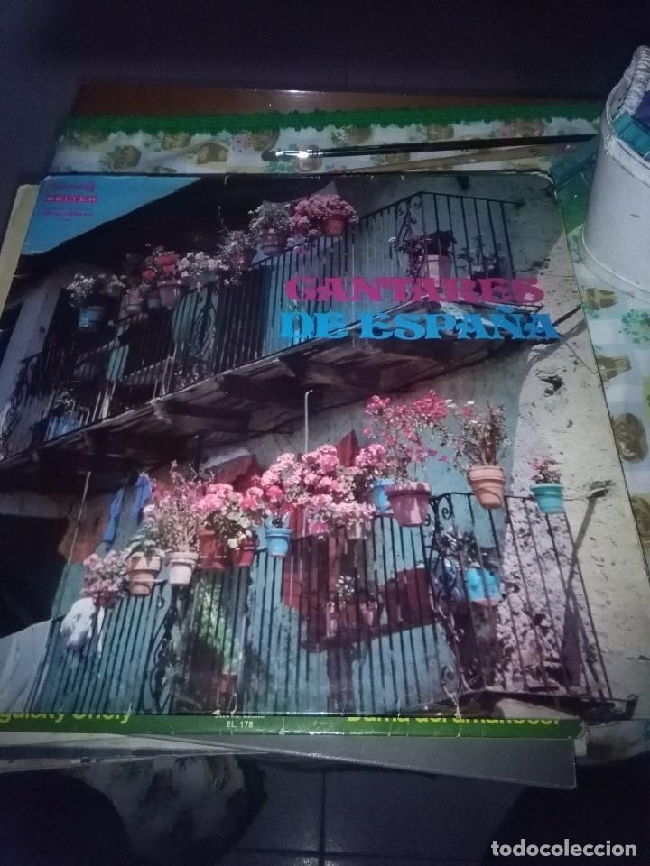 CANTARES DE ESPAÑA. VARIOS ARTISTAS. LOLA FLORES. CARMEN SEVILA DOLORES VARGAS. ROSA MORENO.. C9V (Música - Discos - LP Vinilo - Flamenco, Canción española y Cuplé)