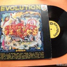 Discos de vinilo: EVOLUTION EVOLUTION LP SPAIN 1979 PDELUXE PROGRESIVO PDELUXE. Lote 75411383