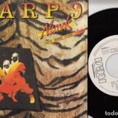 Discos de vinilo: WARP 9 - NUNK - SINGLE DE VINILO PROMOCIONAL - SOUL FUNK DISCO ELECTRONIC. Lote 75419247
