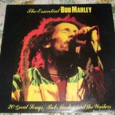 Disques de vinyle: LP BOB MARLEY - THE ESSENTIAL BOB MARLEY (DESIGN, DELP-310) 20 CANCIONES. Lote 75422075