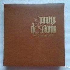 Discos de vinilo: CAMINO DE BETANIA VIDA DE NUESTRO SEÑOR JESUCRISTO CAJA 10 LP´S + LIBRETO. Lote 75424123