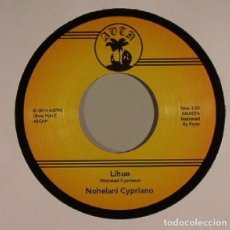 Discos de vinilo: NOHELANI CYPRIANO - LIHUE / PLAYING WITH FIRE - 2014 - SINGLE. Lote 75478743