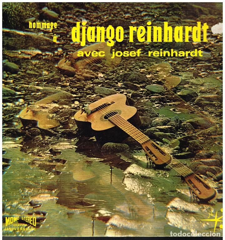JOSEF REINHARDT - HOMMAGE A DJANGO REINHARDT - LP - ED FRANCIA (Música - Discos - Singles Vinilo - Jazz, Jazz-Rock, Blues y R&B)