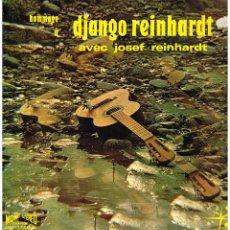 Discos de vinilo: JOSEF REINHARDT - HOMMAGE A DJANGO REINHARDT - LP - ED FRANCIA. Lote 75491047