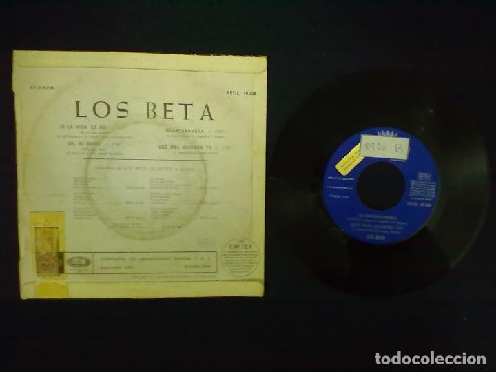 Discos de vinilo: LOS BETA SI LA VIDA ES ASI + 3 PROMOCIONAL - Foto 2 - 75498531