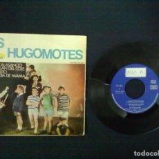 Discos de vinilo: LOS HOGOMOTES HIMNO CALASANCIO RACATAPLAN DEL COLE EL BARTOLITO EL DIA DE MAMA. Lote 75498815