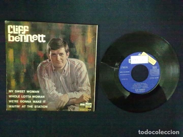 CLIFF BENNET MY SWEET WOMAN + 3 PROMOCIONAL (Música - Discos de Vinilo - EPs - Pop - Rock Extranjero de los 50 y 60)
