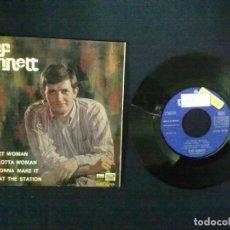 Discos de vinilo: CLIFF BENNET MY SWEET WOMAN + 3 PROMOCIONAL. Lote 75502619