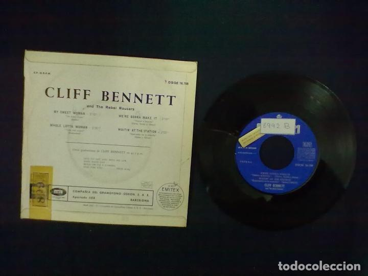 Discos de vinilo: CLIFF BENNET MY SWEET WOMAN + 3 PROMOCIONAL - Foto 2 - 75502619