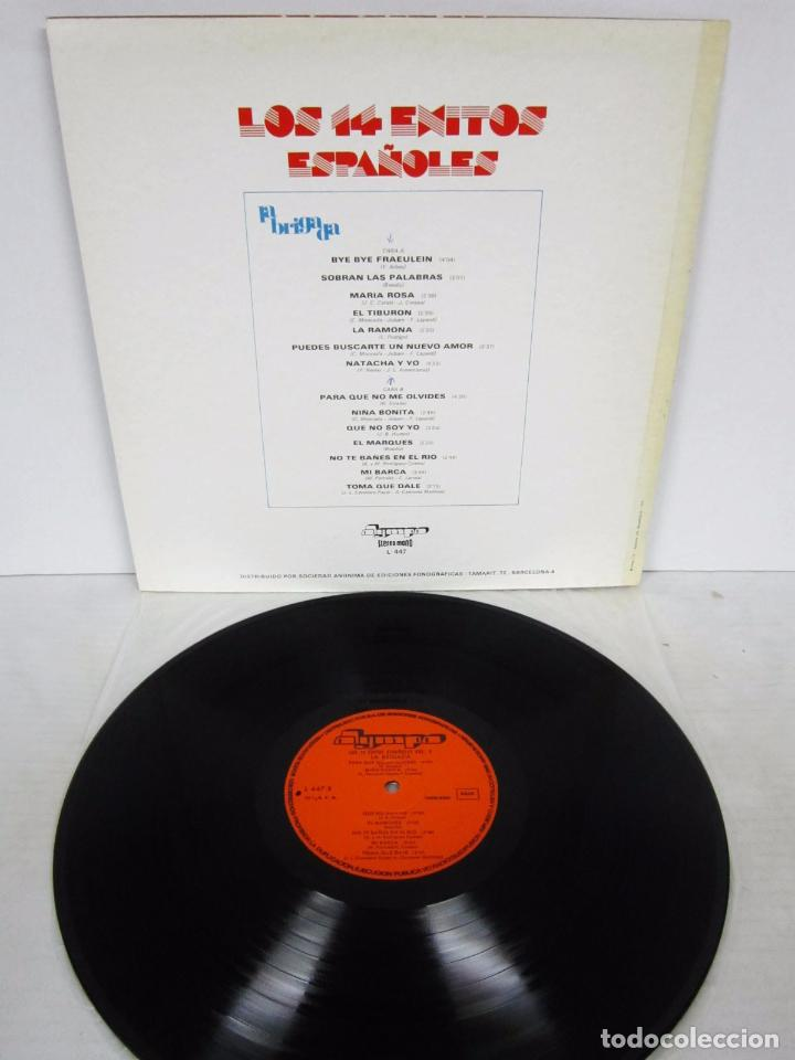 Discos de vinilo: LOS 14 EXITOS ESPAÑOLES VOL 3 - LP - LA BRIGADA - OLYMPO 1976 SEXY COVER - Foto 3 - 75520783