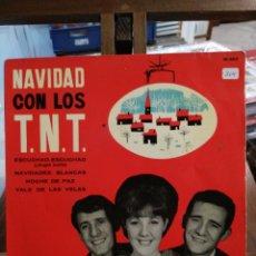 Discos de vinilo: NAVIDAD CON LOS TNT - ESCUCHAD, ESCUCHAD / NAVIDADES BLANCAS / NOCHE DE PAZ / VALS DE LAS VELAS - EP. Lote 75529571