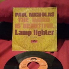 Discos de vinilo: PAUL NICHOLAS ?– THE WORD IS BEAUTIFUL. Lote 75533991