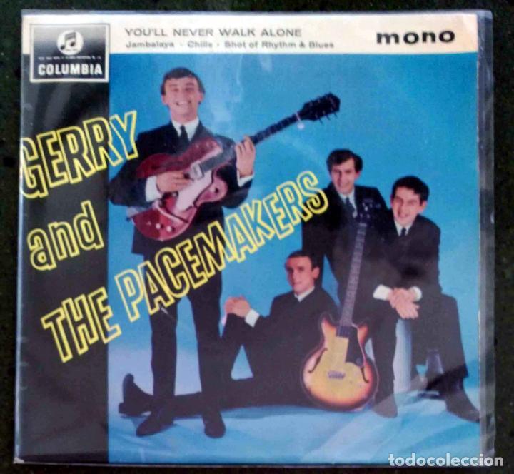 GERRY AND THE PACEMAKERS; YOU´LL NEVER WALK ALONE + JAMBALAYA +2 EDICIÓN INGLESA ORIGINAL (Música - Discos de Vinilo - EPs - Pop - Rock Extranjero de los 50 y 60)