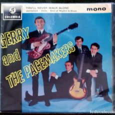 Discos de vinilo: GERRY AND THE PACEMAKERS; YOU´LL NEVER WALK ALONE + JAMBALAYA +2 EDICIÓN INGLESA ORIGINAL. Lote 75512891