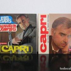 Discos de vinilo: 2 SINGELS EN CATALAN DEL HUMORISTA JOAN CAPRI AÑOS 60. Lote 75585059