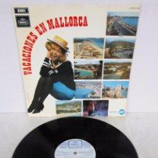 Discos de vinilo: VACACIONES EN MALLORCA - LP - REGAL 1968 - LOS BELAK / GRUPO 15 / LOS 5 DEL ESTE / BLUE QUINTET. Lote 75590067