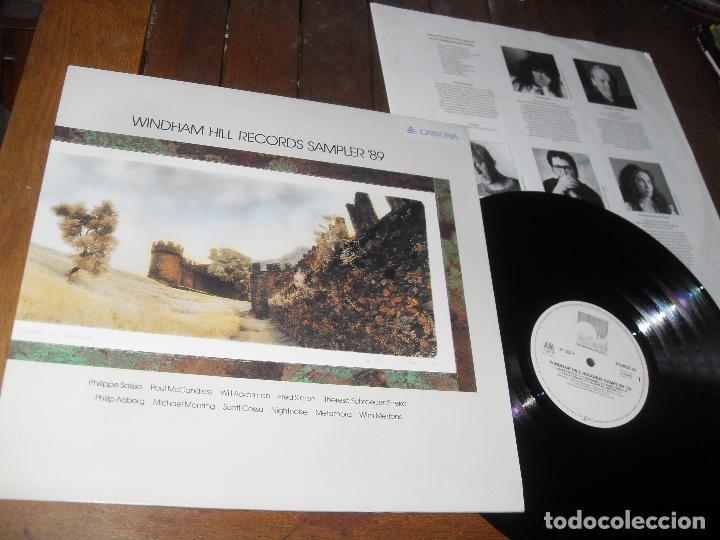 WINDHAM HILL RECORDS SAMPLER 89 LP. MADE IN GERMANY 1989. (Música - Discos - LP Vinilo - Jazz, Jazz-Rock, Blues y R&B)