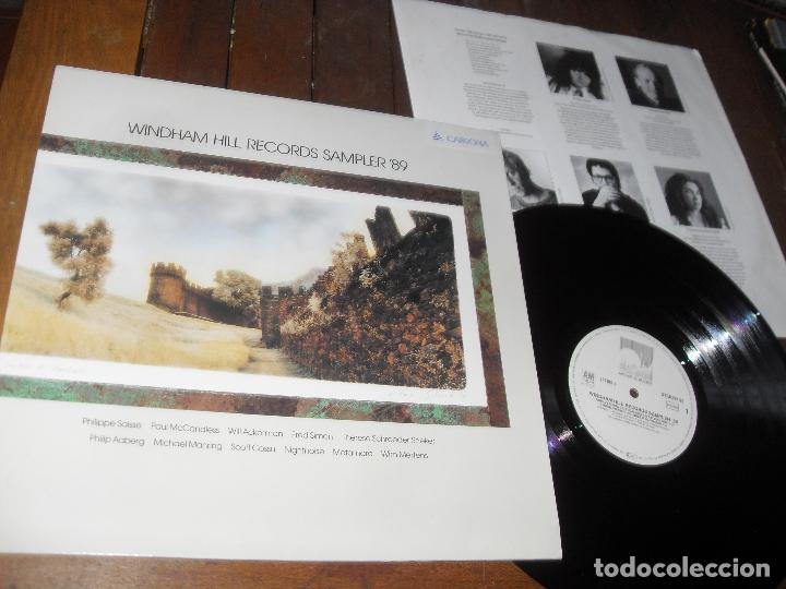 Discos de vinilo: WINDHAM HILL RECORDS SAMPLER 89 LP. MADE IN GERMANY 1989. - Foto 2 - 75595363