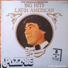 Discos de vinilo - José Marcello Orchestra-Big Hits Latin American, Puzzle-MPL-139 - 75621303