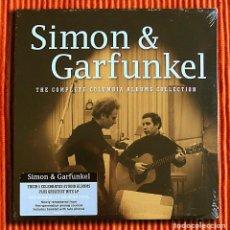 Discos de vinilo: SIMON & GARFUNKEL THE COMPLETE COLUMBIA ALBUMS COLLECTION 180G 6LP BOX SET PRECINTADO. Lote 75624011