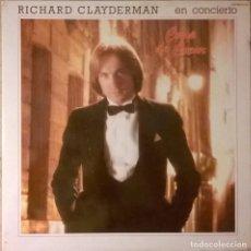Discos de vinilo: RICHARD CLAYDERMAN-EN CONCIERTO COUP DE COEUR , DELPHINE-S 66.062. Lote 75630295