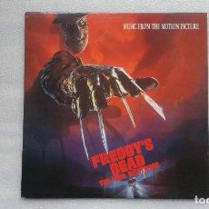 Discos de vinilo: BANDA SONORA FREDDY´S DEAD THE FINAL NIGHTMARE ( PESADILLA EN ELM STREET ) LP 1991 EDICION FRANCESA. Lote 75632967