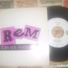 Discos de vinilo: REM-TURN YOU INSIDE-OUT-ESPAÑA-PROMO(WARNER-1988) OG ESPAÑA. Lote 75634159