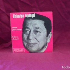 Discos de vinilo - atahualpa yupanqui-trabajo quiero trabajo, guitarra dímelo tú, disco starlux, marfer 1977. - 75639971