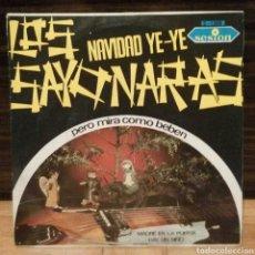 Discos de vinilo: LOS SAYONARAS NAVIDAD YE YE SINGLE VINILO. Lote 75650295