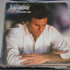 Discos de vinilo: LP. JULIO IGLESIAS. UN HOMBRE SOLO. 1987. CBS. Lote 161884604