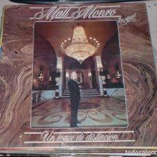 Discos de vinilo: LP. MATT MONRO. EN ESPAÑOL. UN TOQUE DE DISTINCION. 1982. Lote 77153730