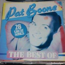 Discos de vinilo: LP. THE BEST OF PAT BOONE. 28 GREAT SONGS. EEC. Lote 75658419