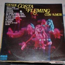 Discos de vinilo: LP. DESDE COSTA FLEMING CON AMOR. 1974. RCA CAMDEN. Lote 75669615