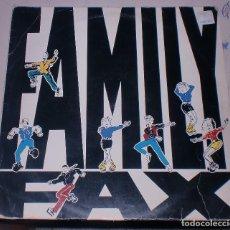 Discos de vinilo: LP. FAMILY FAX. NAVI-RAP / ESPAÑA CAÑI-RAP. 1990. EMI ODEON. Lote 75672699
