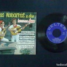 Discos de vinilo: HERMANOS ANOZ JOTAS NAVARRAS A DUO AL NIVEL DE LA RIBERA + 7. Lote 75674803