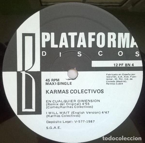 Discos de vinilo: Karmas Colectivos-In Any Dimension, Plataforma Discos-12PF BN 4 - Foto 3 - 75683231