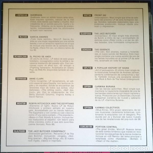 Discos de vinilo: Karmas Colectivos-In Any Dimension, Plataforma Discos-12PF BN 4 - Foto 5 - 75683231