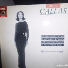 Discos de vinilo: DISCO MARIA CALLAS 1957-1969. Lote 75687311