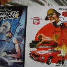 Discos de vinilo: LOTE 2 LPS DE KUNG-FU BREAKS. Lote 75689403