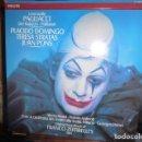 Discos de vinilo: DOBLE DISCO DE VINILO LEONCAVALLO PAGLIACCI - PLACIDO DOMINGO, TERESA STRATAS, JUAN PONS . Lote 75691519
