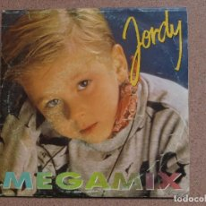 Discos de vinilo: JORDY - MEGAMIX - DISCO PROMOCIONAL DE UNA SOLA DE CARA. Lote 75707903
