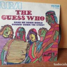 Discos de vinilo: THE GUESS WHO -SINGLE. Lote 75709023