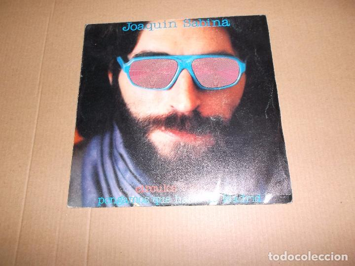 JOAQUIN SABINA (SN) CIRCULOS VICIOSOS AÑO 1981 (Música - Discos - Singles Vinilo - Solistas Españoles de los 70 a la actualidad)
