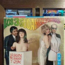 Discos de vinilo - Los 3 Sudamericanos - La balada de Bonnie Y Clyde / Cuando me enamoro - SIngle - 75734175