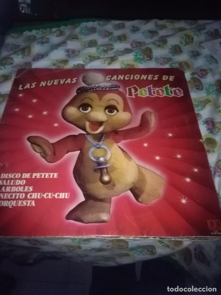 LAS NUEVAS CANCIONES DE PETETE. C11V (Música - Discos - LPs Vinilo - Música Infantil)