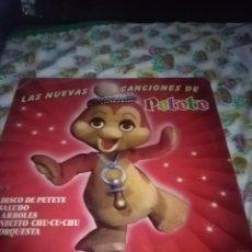 Discos de vinilo: LAS NUEVAS CANCIONES DE PETETE. C11V. Lote 75740963