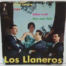 Discos de vinilo: LOS LLANEROS - ALMA LLANERA - 1962 - ZAFIRO. Lote 75741999