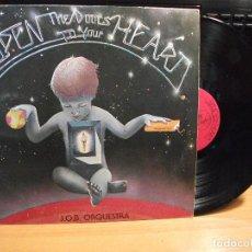 Discos de vinilo: J.O.B. ORQUESTA - OPEN THE DOORS TO YOUR HEART LP 1979 PEPETO. Lote 75747051
