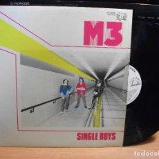Discos de vinilo: M3 SINGLE BOYS LP 1982 JUPITER RECORDS EDICION ESPAÑOLA PROMO SPAIN PEPETO. Lote 75748279