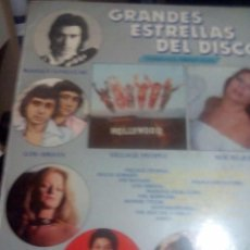 Discos de vinilo: RA_LP DISC VINILO.GRANDES ESTRELLAS DEL DISCO.LOS AMAYA/MANOLO SAN LUCAR/BONNIE/TYLER/SANTA BARBAR. Lote 75756635